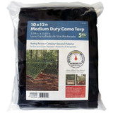 10x12ft Medium Duty Camo Tarp
