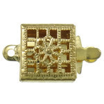 1 strand Box Clasp Gold plated