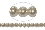 10mm Czech round smooth Glass Pearl