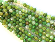 10mm Natural Agate Lace multi tone Gemstone beads