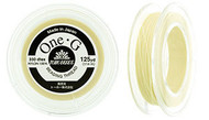 125 Yards Spool Toho One-G Thread Cream