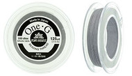 125 Yards Spool Toho One-G Thread Light Grey