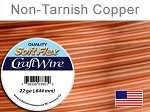 15 yds 22 ga non tarnish copper Soft Flex craft wire