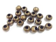 19 7.8mm bronze bead Spacers