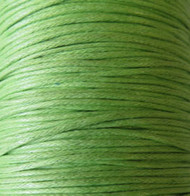 2 meters Genuine Grren Grass waxed Cotton Cord 1.mm