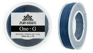 250 Yards Spool Toho One-G Thread Blue
