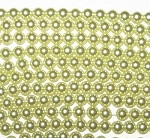 6mm Czech round smooth Glass Pearl