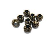 8 7x9mm bronze bead Spacers