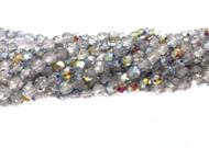 8mm Czech Crystal Marea Fire Polished Glass beads