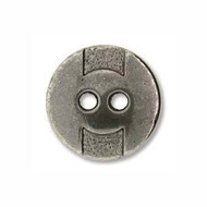 Ant Silver 14mm Coin full metal Button