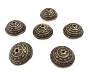 Antique Brass Plated Spacer Beads