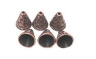 Antique Copper Plated Decor Bead Cone