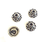 Bali Sterling Silver Fancy Bead cap