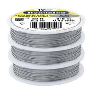 Beadalon 19strd .018 Bright 30Ft