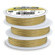 Beadalon 19strd .018 Gold 30Ft
