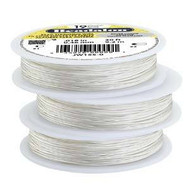 Beadalon 19strd .018 Silver 30Ft
