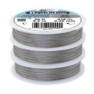 Beadalon 49 Strd .015 Bright 30Ft
