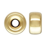 Gold-Filled Smooth Rondel Bead