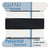 Griffin Nylon Bead Cord black 2