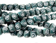 Handmade Recycled African Glass Natural Beads