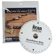 Kumihimo Disk 6in Round English Instr Each