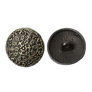 Shank Round Antique bronze Round Button