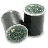 Sono Black Beading Thread