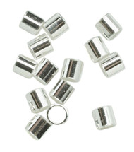 Tube Crimp 2.5 X 2.5mm Silver Plate