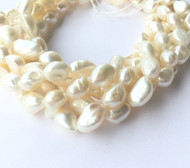 Copy of Genuine natural Round Freshwater Pearl Beads