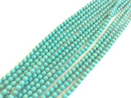 fine genuine blue green magnesite Gemstone Beads