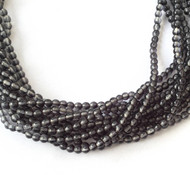 110 Fine Natural African Smoke Quartz Gemstone Smooth round beads Beading Supplies