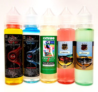 SPECIAL OFFER:  5 bottles of the best sellers at one great price with FREE shipping.  3mg/ml nicotine