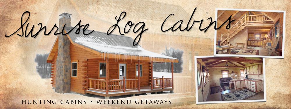 Sunrise Log Cabins in Ohio