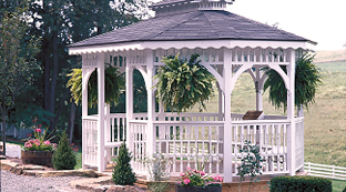 Luxcraft Outdoor Vinyl Gazebo
