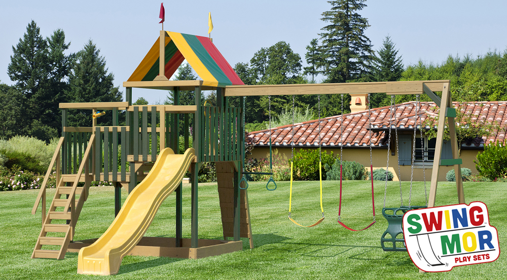 SwingMor Wood Playsets in Ohio