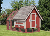 4x8 Chicken Coop with Outside Run
