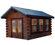 10x14 Camper Log Cabin