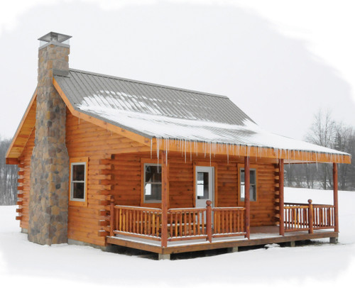 Supreme Log Cabin Series Wayside Lawn Structures