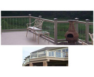 Glass T-rail | Wayside Lawn Structures in Columbiana, Ohio