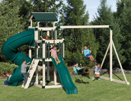 Discovery Depot Set D48-3 Swingset | Adventure World Playset