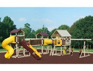 Imagination Station #IH68-1 Swingset | Adventure World Playsets