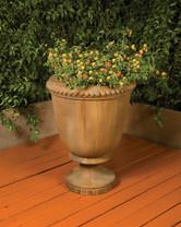 Venetian Planter - Material : GFRC - Finish : Chestnut