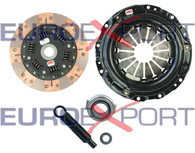 Honda Acura B16 B18 B20 Stage 2 Clutch Kit Full Face Organic Competition Clutch 8026-2600