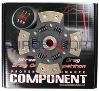 Competition Clutch 4 Puck Sprung Ceramic Disc for Mitsubishi 4G63T Eclipse Galant Turbo