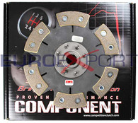 Competition Clutch 6 Puck Solid Ceramic Disc for Mitsubishi 4G63T Eclipse Galant Turbo