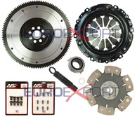Honda K20 Competition Clutch Lightweight Steel Flywheel + Stage 4 Clutch Kit 1