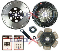 Honda B16 B18 B20 Competition Clutch Lightweight Steel Flywheel + Stage 4 Clutch Kit