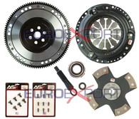 Honda D Series Competition Clutch Lightweight Steel Flywheel + Stage 5 Clutch Kit