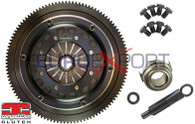 Honda K20 K24 184mm Rigid Twin Disc Kit Competition Clutch 4-8037-C