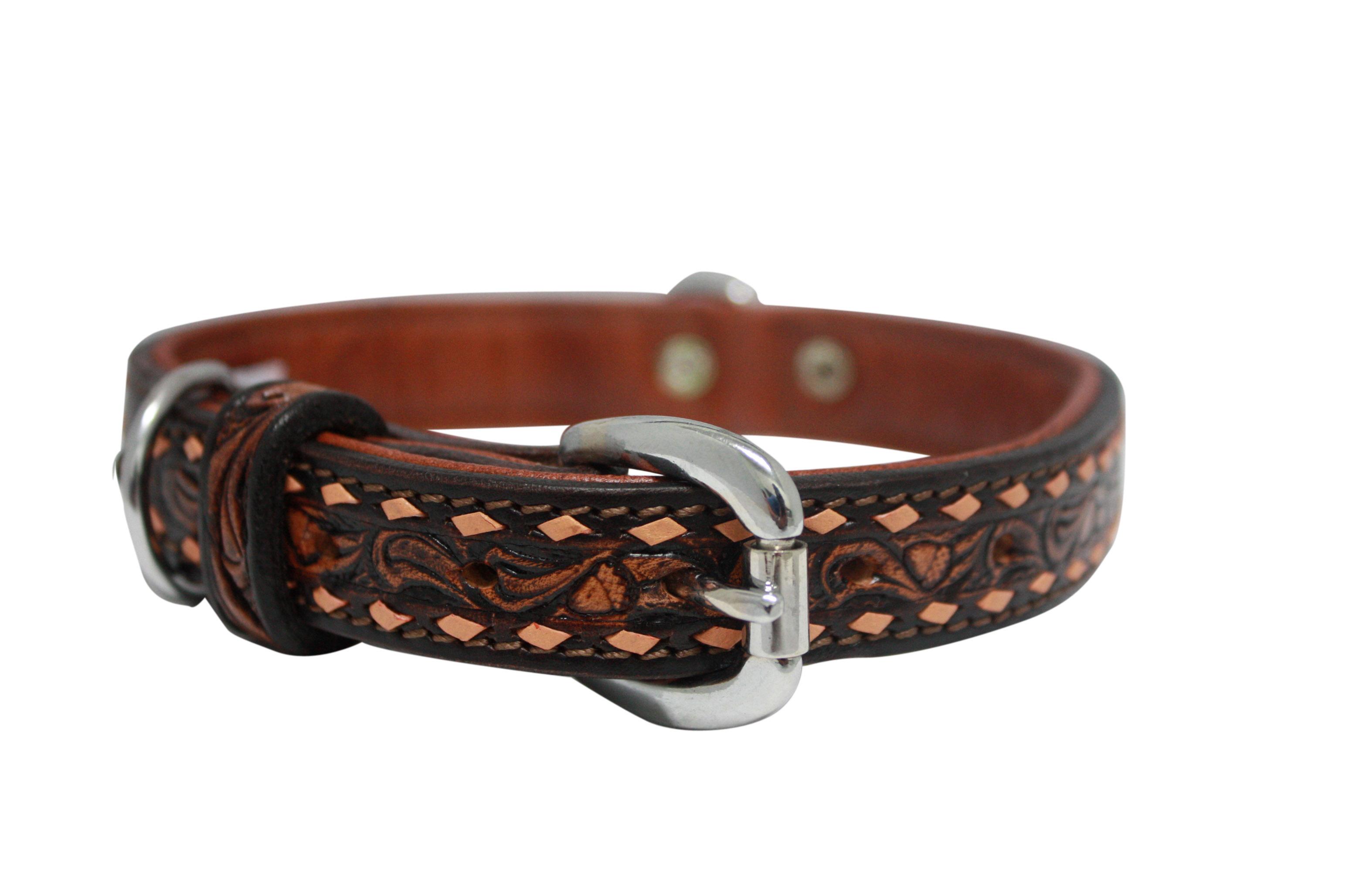Hot Dog The Tucson - Luxury Leather Dog Collar